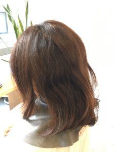 東京銀座くせ毛専門,40代女性のくせ毛、広がる髪