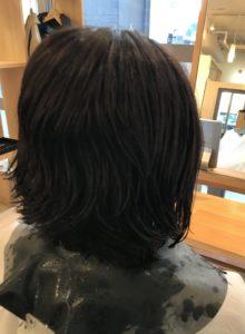 東京銀座くせ毛専門,くせ毛40代女性カット