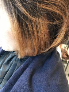 東京銀座くせ毛専門,金髪に縮毛矯正