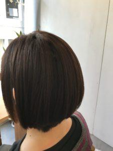 東京銀座くせ毛専門,ブリーチ毛に縮毛矯正してもダメージは気にならない