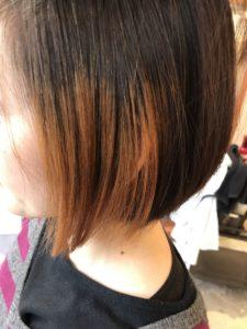 東京銀座くせ毛専門,金髪、ダメージ毛でも縮毛矯正はかかる