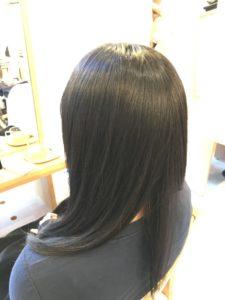 東京銀座くせ毛専門,毎朝のアイロンより縮毛矯正の方がダメージは少ない