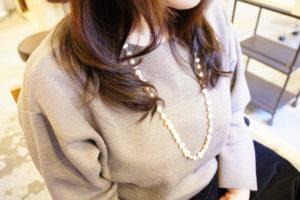 東京銀座くせ毛専門,表面だけに縮毛矯正、毛先はくせ毛を活かして動きを