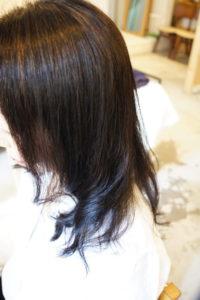 東京銀座くせ毛専門,縮毛矯正に毛先デジタルパーマでカールヘア