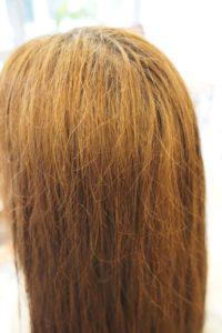 東京銀座くせ毛専門,アホ毛、ぽや毛で艶が出にくい髪