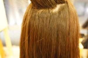 東京銀座くせ毛専門,伸びた部分だけに縮毛矯正をかける