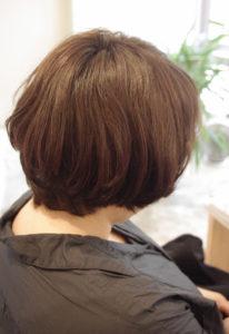 東京銀座くせ毛専門,くせ毛に合わせてカット。乾かすだけでまとまる髪型