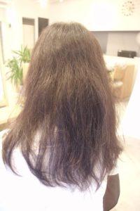 東京銀座くせ毛専門,くせ毛で乾燥毛なので広がる髪質