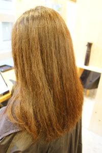 東京銀座くせ毛専門、トリートメントで髪がボサボサ