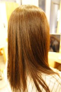 東京銀座くせ毛専門、ホワホワ毛を縮毛矯正でまとまる髪に
