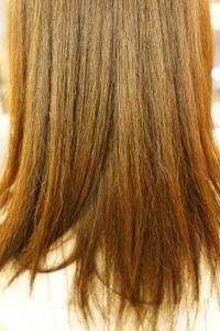 東京銀座くせ毛専門、縮毛矯正でツヤ髪に
