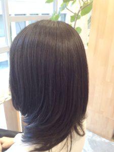 東京銀座くせ毛専門,太い、硬い、うねる髪に縮毛矯正でボリュームダウン