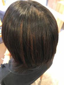 東京銀座くせ毛専門、アラフォー女性の縮毛矯正