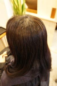 東京銀座くせ毛専門、縮毛矯正と毛先デジタルパーマ