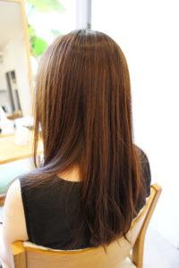 東京銀座くせ毛専門、アラサー女子の髪型
