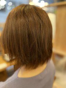 東京銀座、くせ毛